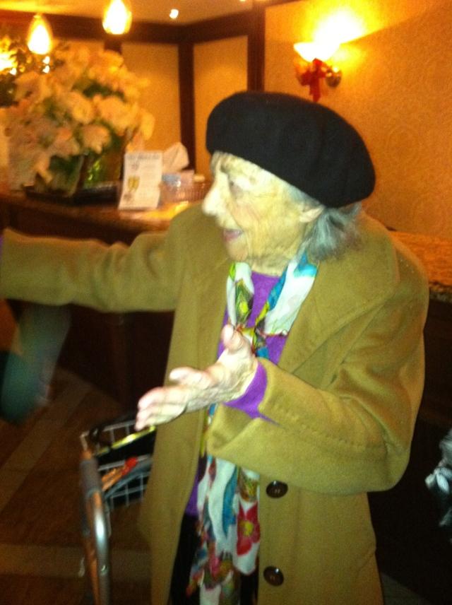 Great Aunt Sarah Willdorf at 100